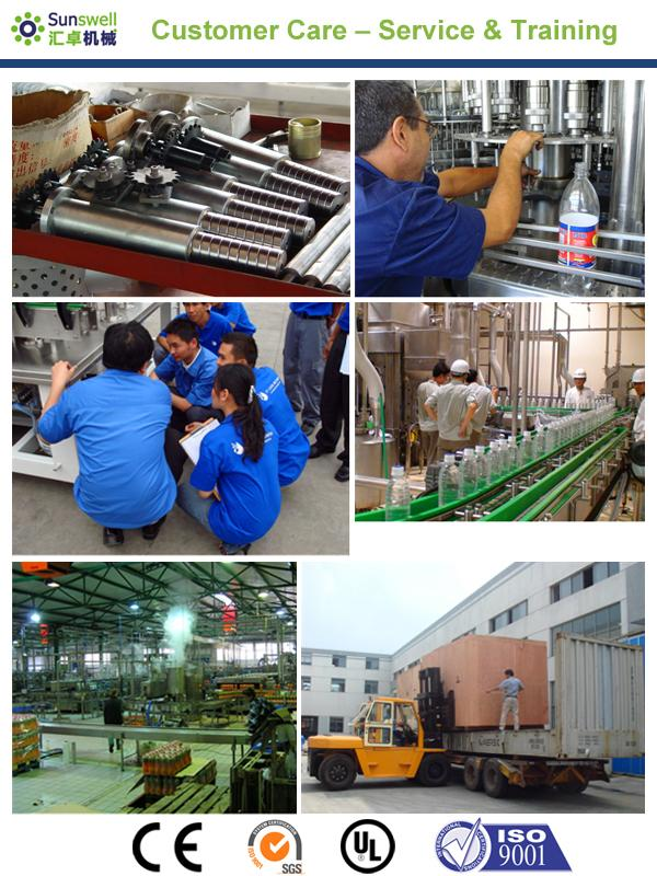 PET / Plastic Bottle Juice Filling Machine , Automatic Rotary Juice Filling Equipment