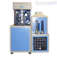 380V / 14KW Semi-Automatic Bottle Blow Molding Machine to make PET bottles for edible oil