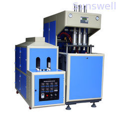 Multi-fnction 3 cavity Semi-automatic PET bottle blow molding machine 1600 - 1800BPH pcs/h
