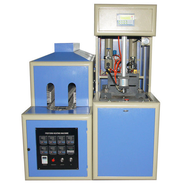 Semi - automatic 5L Bottle Extrusion Blow Molding Machine for PET bottles and jars