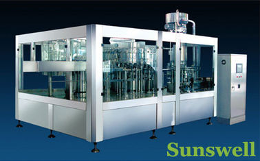 ประเทศจีน Stainless Steel Tea Filling Machine 3-In-1 Monoblock With 7000BPH โรงงาน